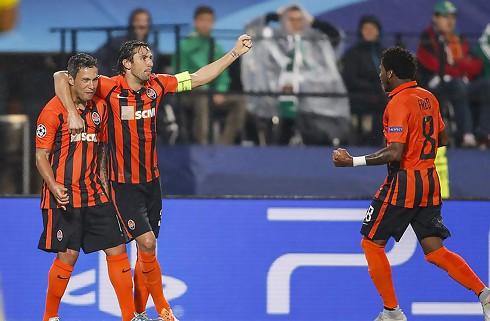 Shakhtar sejrede hjemme mod Napoli