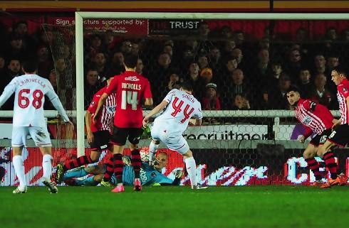 Ungt Liverpool-hold tvunget i omkamp af Exeter