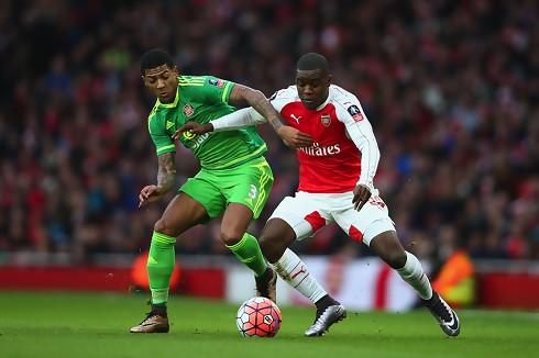 Arsenal sikkert videre mod Sunderland