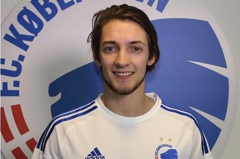 Officielt: Rasmus Falk skriver fire år med FCK