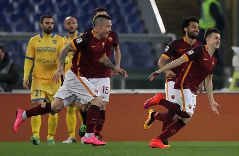 Debutant scorede i sikker Roma-sejr