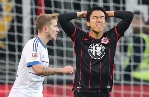 Frankfurt og HSV skød med løst krudt