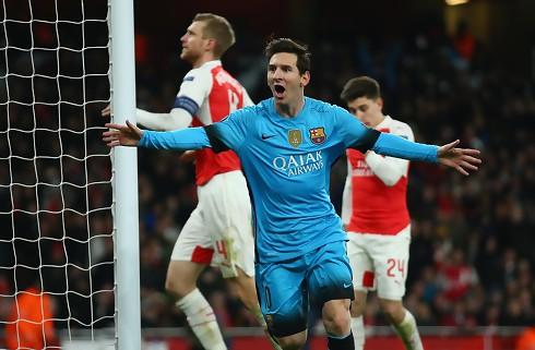 Lionel Messi nedlagde uskarpe Arsenal