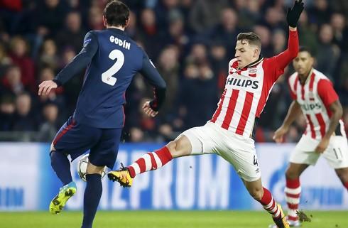 PSV's ti mand holdt stand mod Atletico