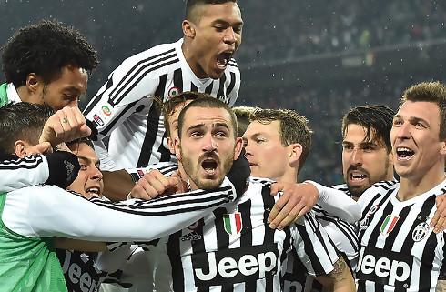 Juventus buldrer videre: 2-0 over Inter