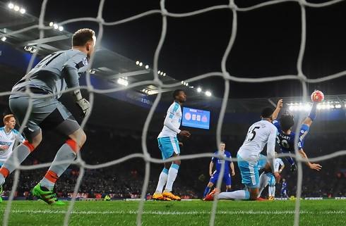 Saksesparksmål da Leicester slog Newcastle