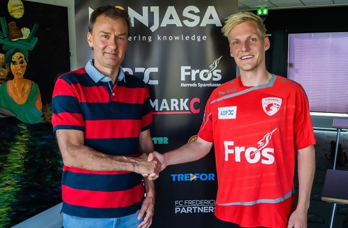 FC Fredericia henter Andreas Oggesen