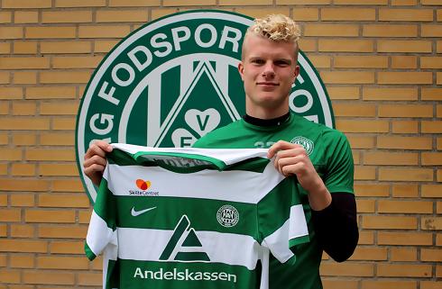 Dehn nyder at få spilletid i Viborg