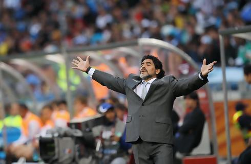Maradona ny præsident i hviderussisk klub