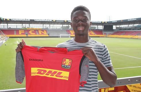FC Nordsjælland skriver med ung ghaneser