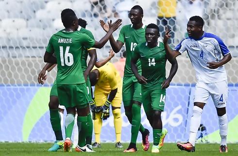 Nigeria vendte 0-2 til sejr mod Argentina