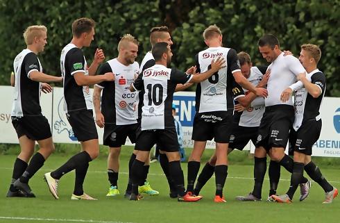 FC Sydvest videre i pokalen med smal sejr