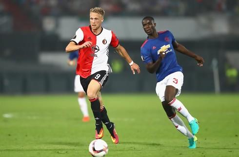 Jørgensen bombede igen i Feyenoord-sejr