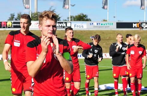 Kaptajn når 200 kampe i FCF: Elsker klubben