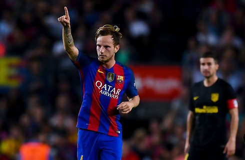 Rakitic hylder Messi: Den bedste i historien