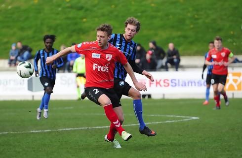 Fredericia-back hilser konkurrent velkommen