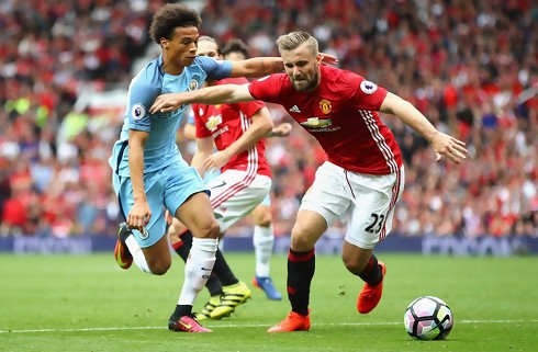 Mourinho saver Luke Shaw midt over