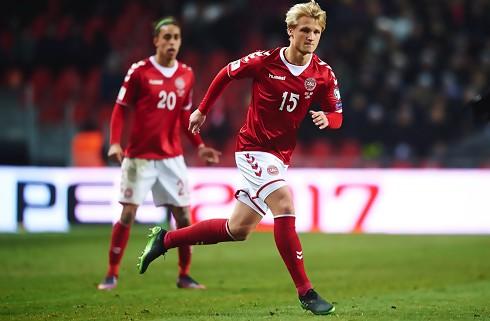 Kasper Dolberg udtaget til landsholdet