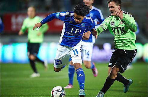 Danilo Arrieta takker af i Lyngby