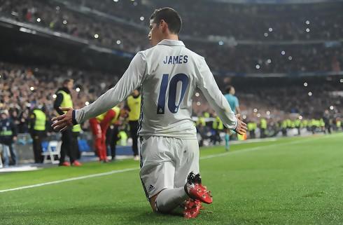 Bayern lejer James Rodriguez
