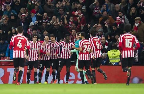 Bilbaos ni mand holdt ud og slog Barcelona