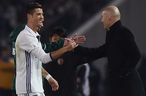 Zidane glad for at have Ronaldo tilbage