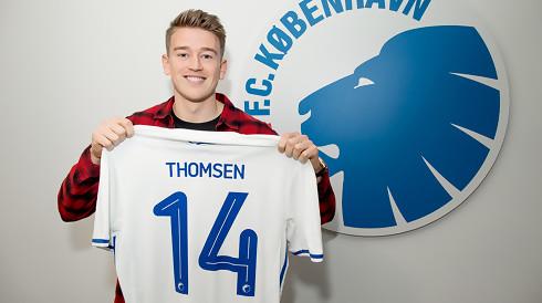 Nicolaj Thomsen tilbage på træningsbanen