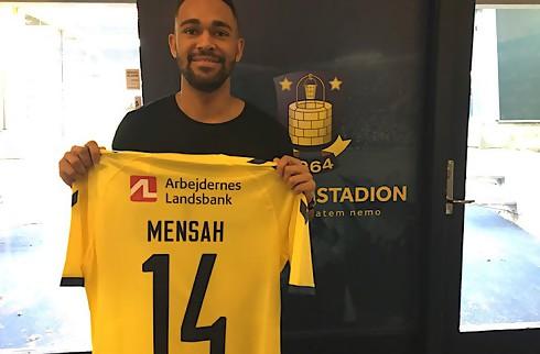 Mensah: Største dag i min fodboldkarriere