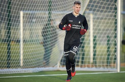 Brøndby udlejer ung keeper til Næstved