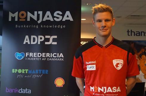 Morten Beck Andersen fortsætter i Fredericia