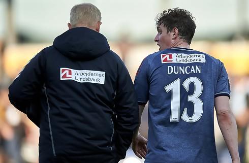 Duncan: Vi var helt væk de første 20