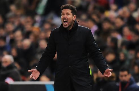 Simeone roser sit hold og Romas målmand