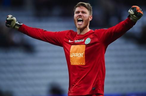 Viborg-keeper tilbage mod Silkeborg - Park ude