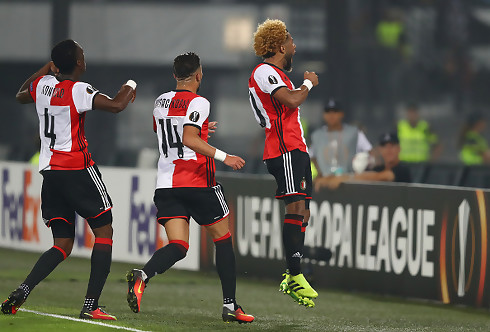 Feyenoord-modstander led sent sammenbrud