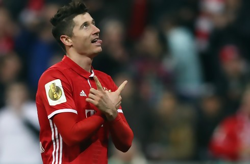 Lewandowski bombede i Bayern-sejr