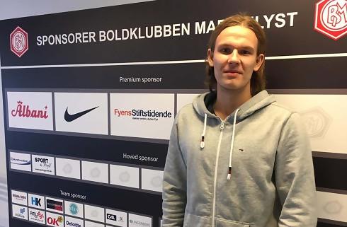 Emil Peter Jørgensen fortsætter i Marienlyst