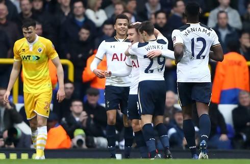 Eriksen og Tottenham mod Chelsea i semifinale