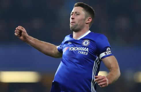 Gary Cahill sparkede Chelsea til ny sejr