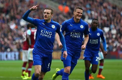 Leicester tog tredje sejr i træk mod West Ham
