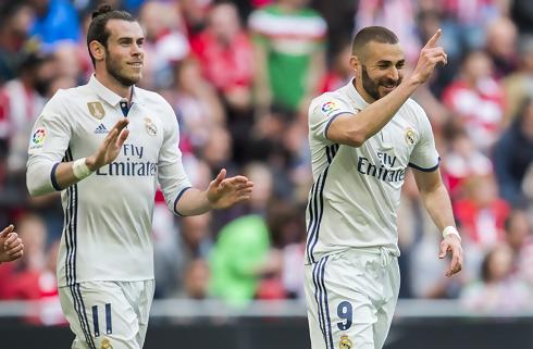 Real Madrid skød Bilbaos fort i sænk