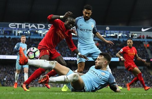City og Liverpool delte i underholdende topbrag