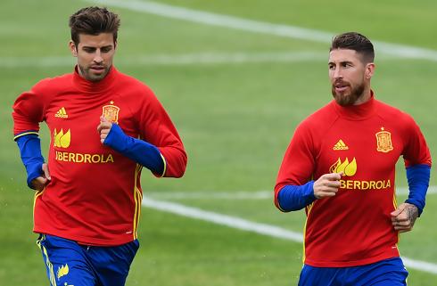 Ramos: Intet ondt mellem Pique og mig