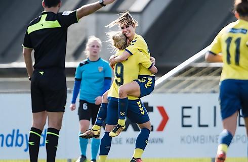 Brøndby nedlagt af FC Rosengård