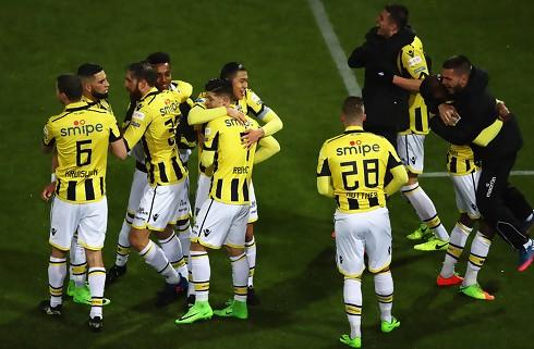 Utrecht og Vitesse delte i første Europa-duel