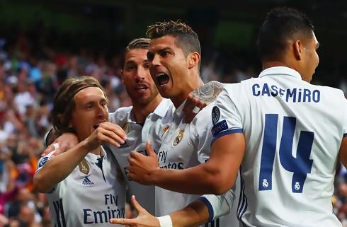 Ronaldo og Marcelo vendte 0-1 til 3-1