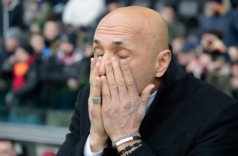 Spalletti irriteret over Juventus' tidsudtræk