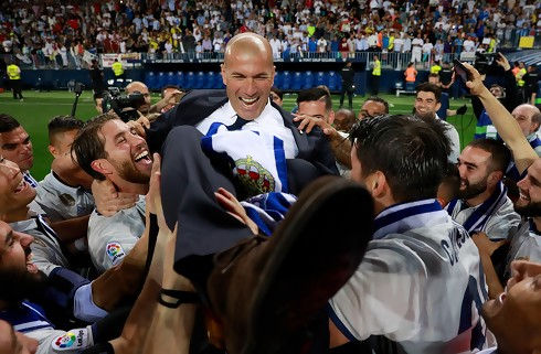 Zidane får comeback mod danskerklub