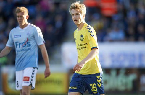 Brøndby udlejer offensivt talent til Nykøbing