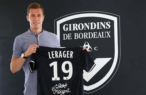 Lukas Lerager får fire år i Bordeaux