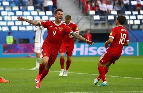 Rusland åbnede med sejr i Confed Cup